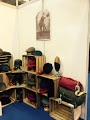 Our stand at BETA, takin inspiration from an apple yard- horses love that...