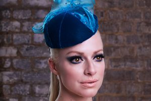 Fashion millinery by Julian Garner
