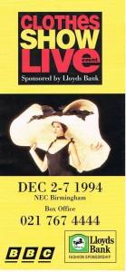 Clothes Show Live 1994